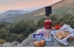 panoramatická snídaně/panoramatic breakfast
